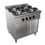 Cucina a Gas Quattro Fuochi