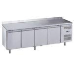 Tavolo Refrigerato 4 Porte Alzatina Serie CL