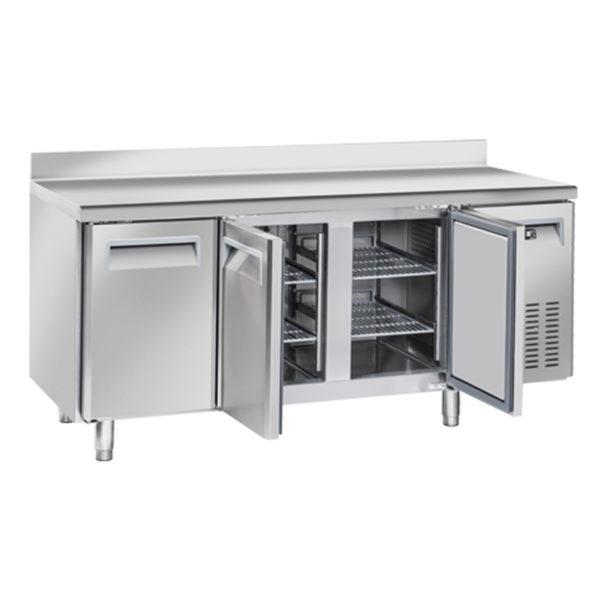 Tavolo Freezer Congelatore BT Lt 358 Tre Porte, -18°C -22°C, Profondo 600 mm