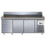 Banco Pizza Refrigerato TN Lt 386 Due Porte + 7 Cassetti